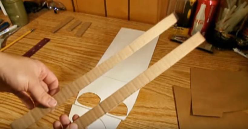 Процесс изготовления шлема дарта вейдера шаг 15