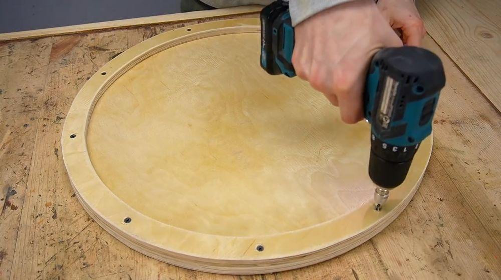 Процесс изготовления ручной бетономешалки шаг 15