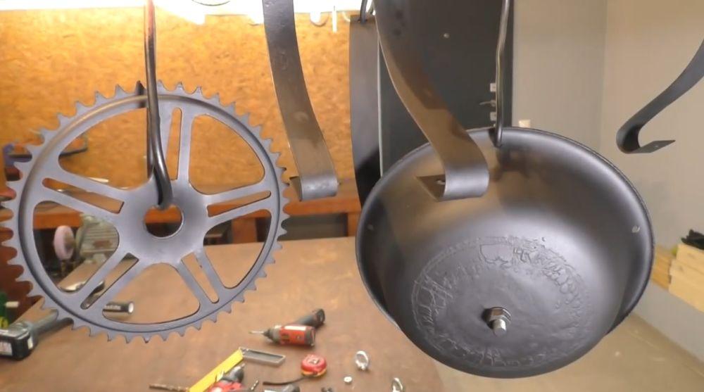 Процесс изготовления ретро лампы шаг 15