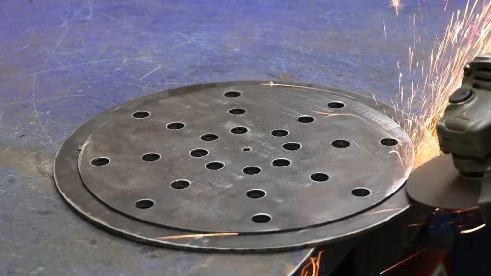 Процесс изготовления мангала гриля шаг 15