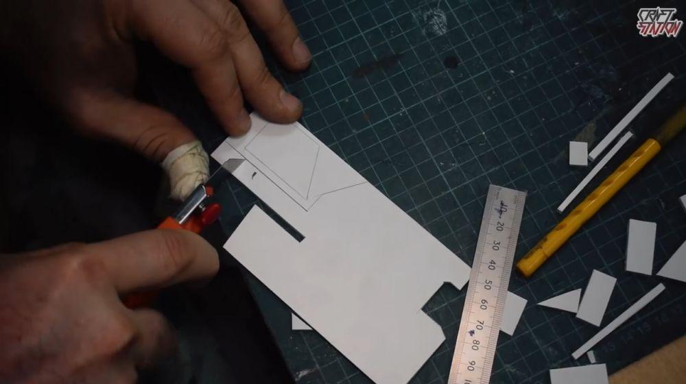 Процесс изготовления винтовки мондалорца шаг 15