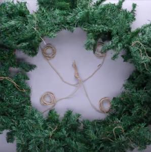 Процесс изготовления новогоднего декора шаг 16