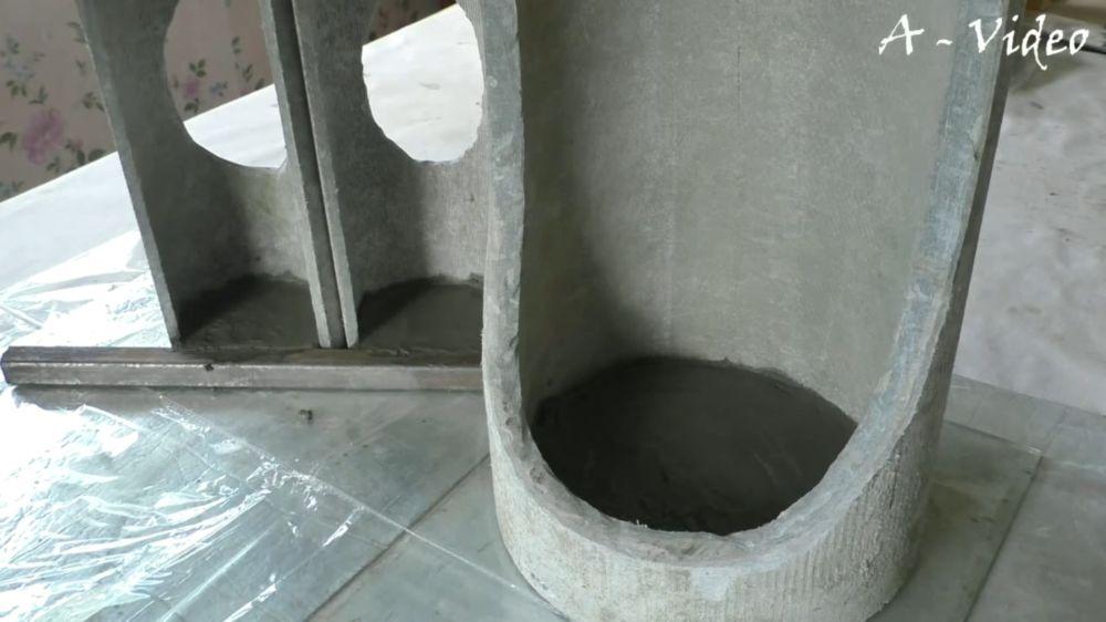 Процесс изготовления кашпо из трубы шаг 15