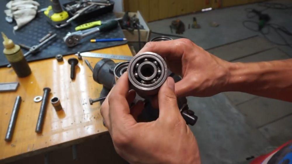 Процесс изготовления прокатного станка шаг 15