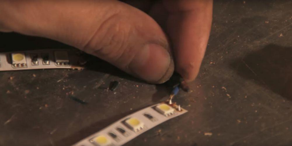 Процесс изготовления светильника из полена шаг 16