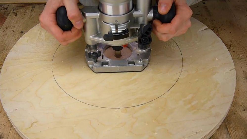 Процесс изготовления ручной бетономешалки шаг 16