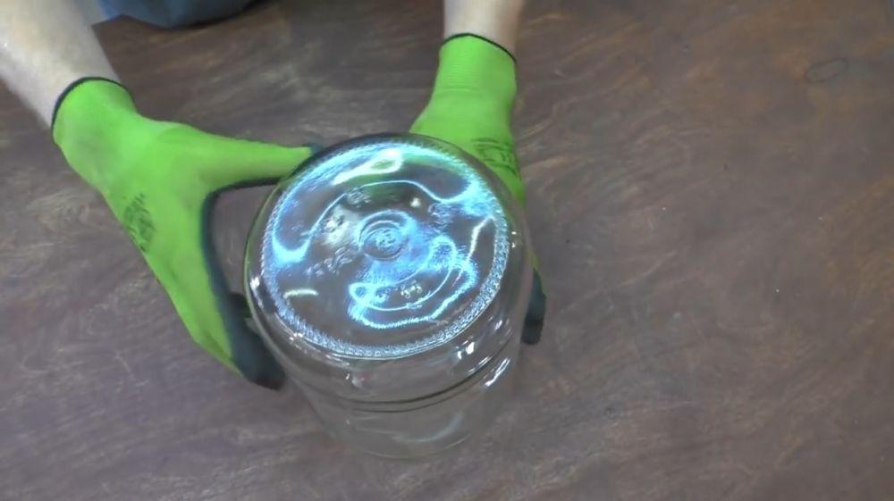 Процесс изготовления ретро лампы шаг 16