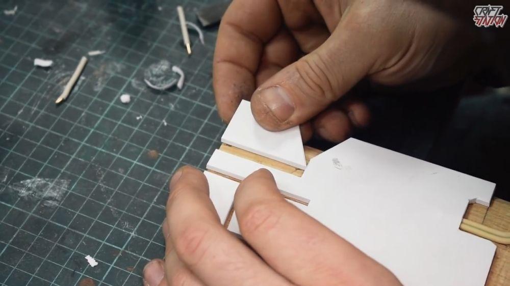 Процесс изготовления винтовки мондалорца шаг 16