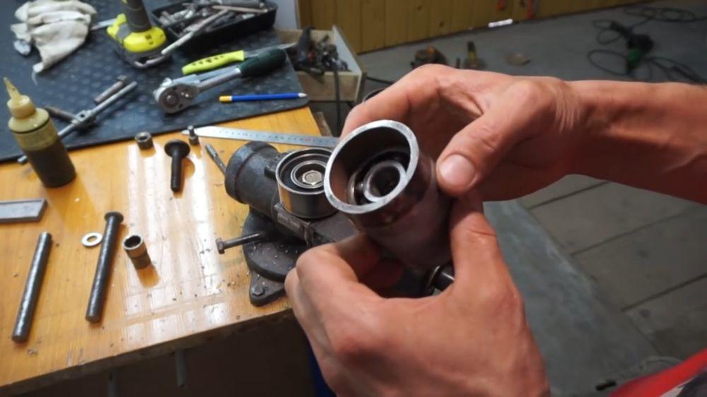 Процесс изготовления прокатного станка шаг 16