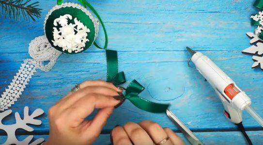 Процесс изготовления елочных шаров шаг 16