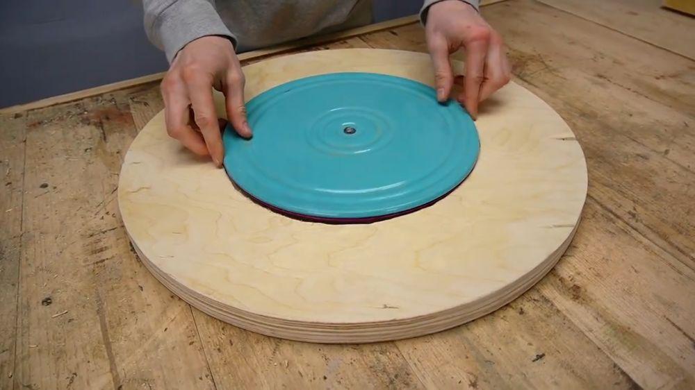 Процесс изготовления ручной бетономешалки шаг 17