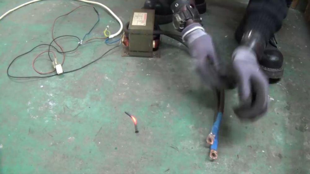 Процесс изготовления точечной сварки шаг 16