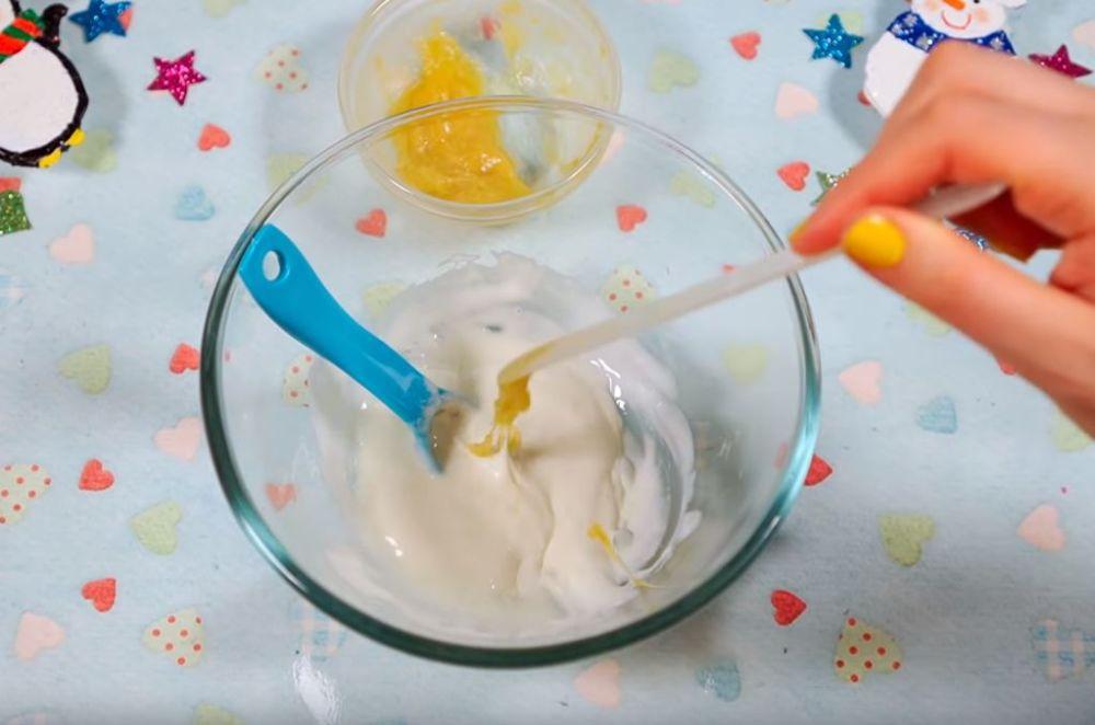 Процесс изготовления слайма из мыла шаг 18