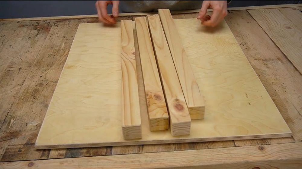 Процесс изготовления ручной бетономешалки шаг 18