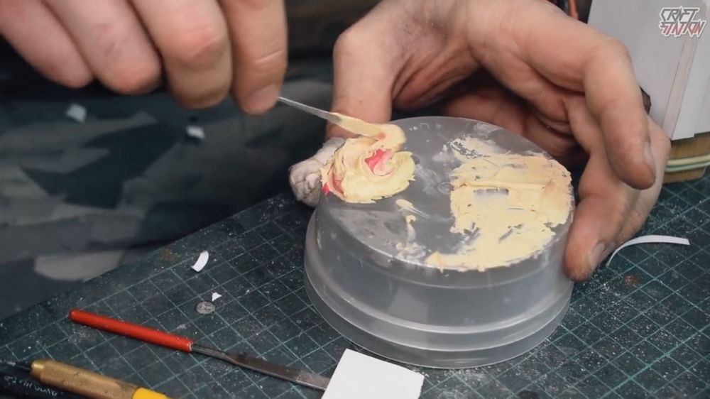 Процесс изготовления винтовки мондалорца шаг 18