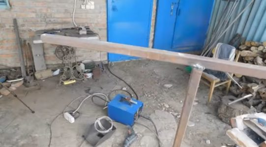 Изготовление ручки лопаты