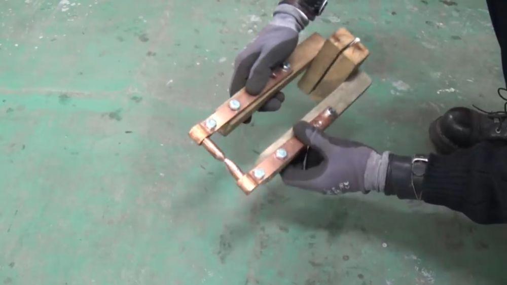 Процесс изготовления точечной сварки шаг 17