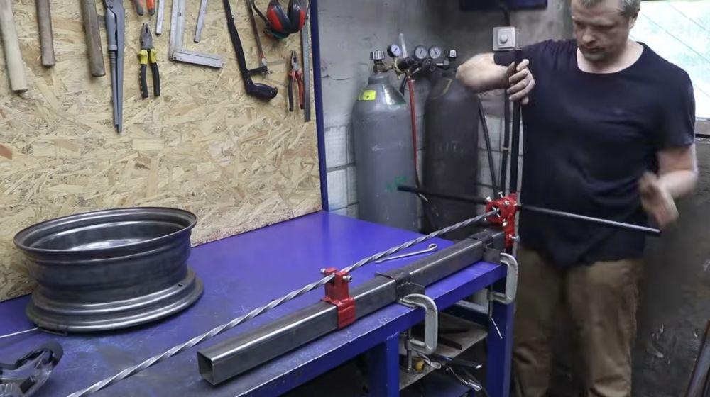 Процесс изготовления мангала гриля шаг 19