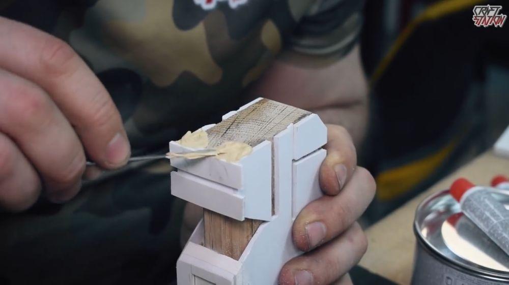 Процесс изготовления винтовки мондалорца шаг 19