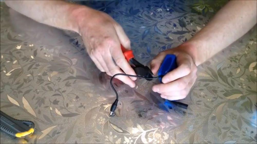 Процесс изготовления подводной камеры шаг 1