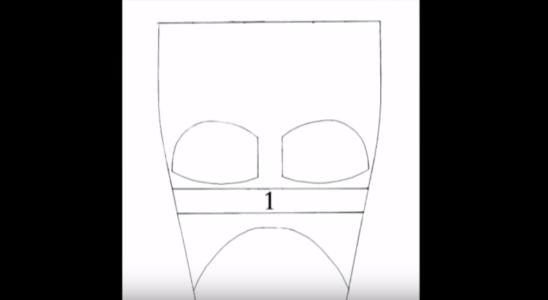 Процесс изготовления шлема дарта вейдера шаг 2