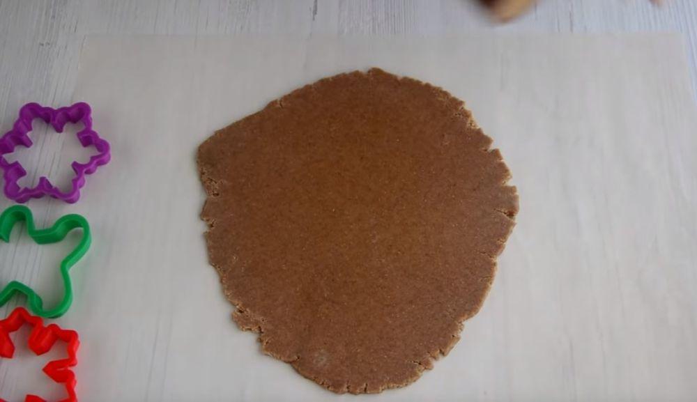 Процесс изготовления имбирных пряников шаг 2
