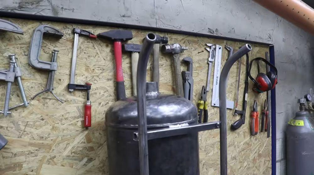 Рукоятки из труб