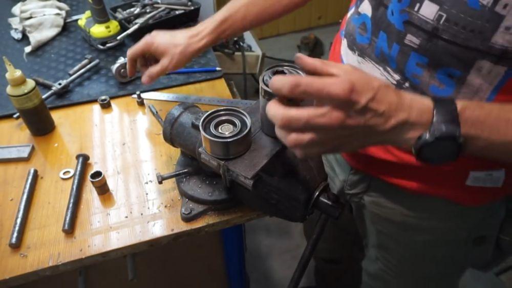 Процесс изготовления прокатного станка шаг 19