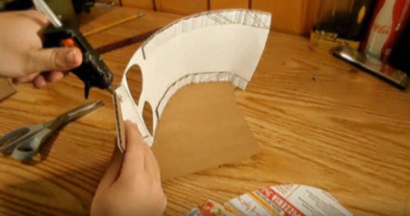 Процесс изготовления шлема дарта вейдера шаг 20