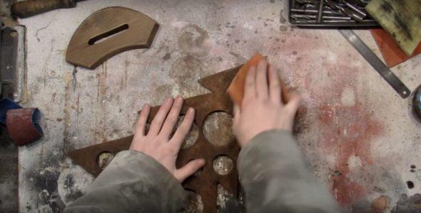 Процесс изготовления елки стимпанк шаг 19