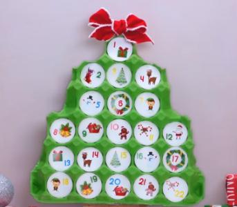 Процесс изготовления новогоднего декора шаг 21