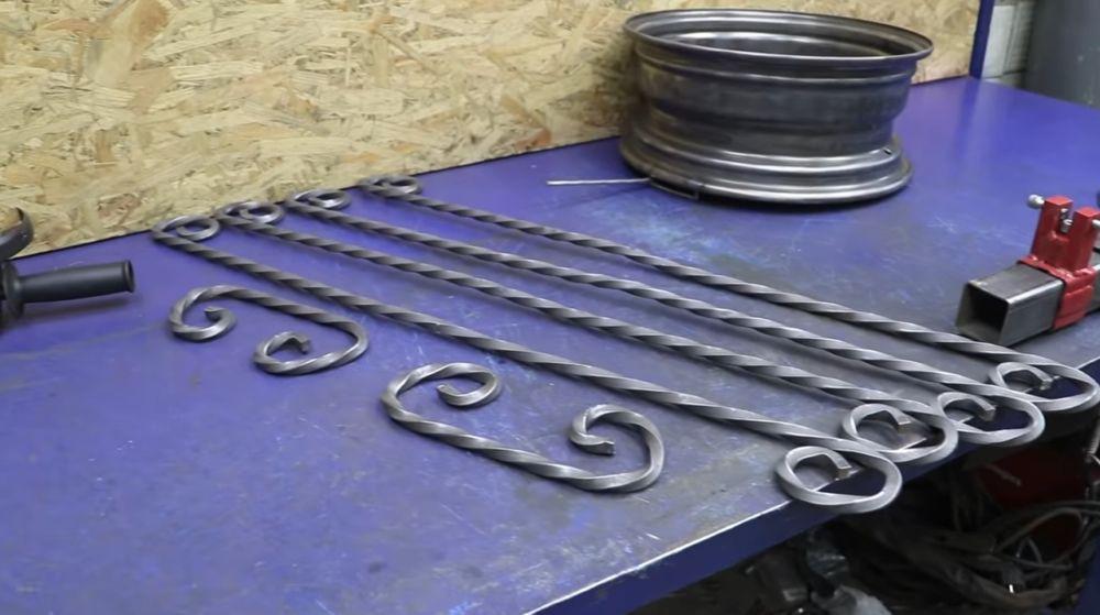 Процесс изготовления мангала гриля шаг 21