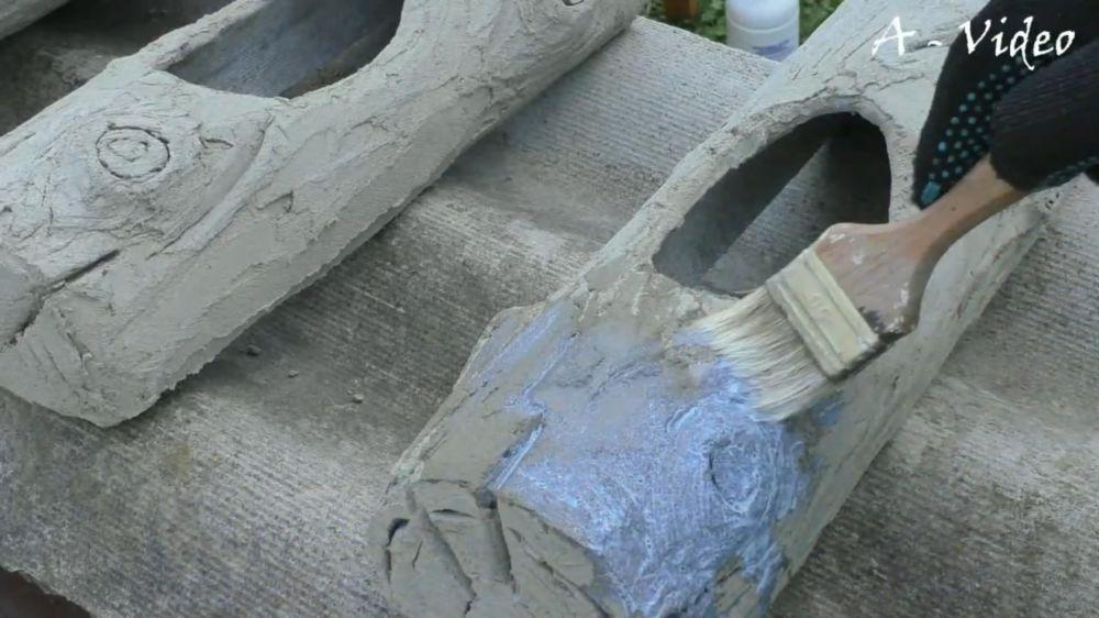 Процесс изготовления кашпо из трубы шаг 21