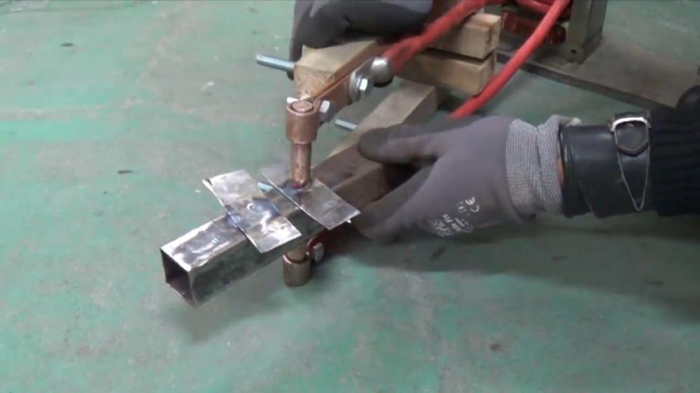 Процесс изготовления точечной сварки шаг 20
