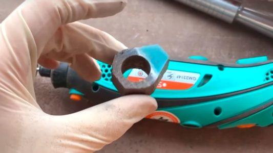 Процесс изготовления кольца из эпоксидной смолы шаг 22