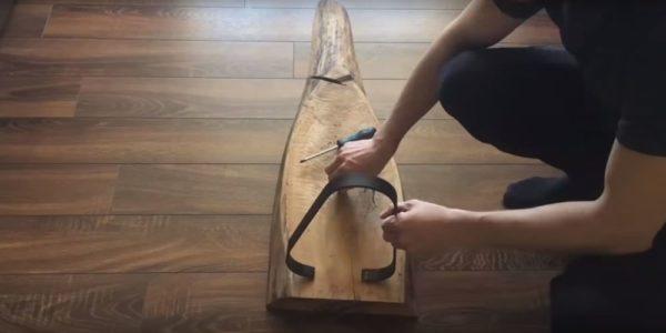 Процесс изготовления журнального столика лофт шаг 22