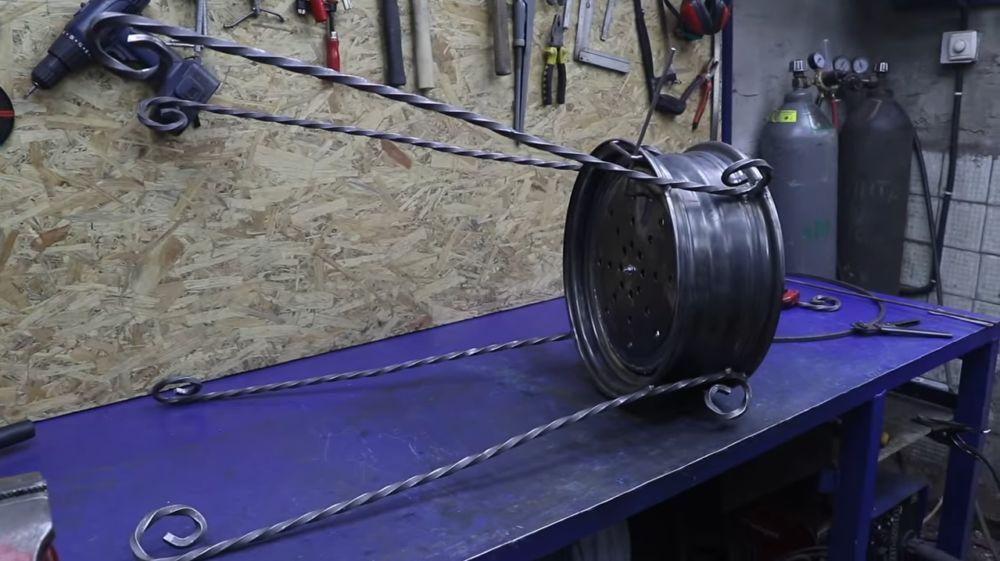 Процесс изготовления мангала гриля шаг 22