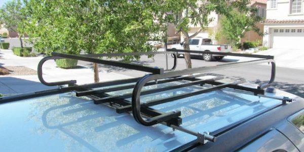 Багажник на крышу автомобиля с рейлингами своими руками