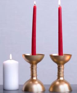 Процесс изготовления новогоднего декора шаг 23