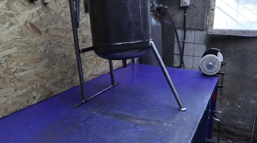 Cамодельный пескоструйный аппарат из пропанового баллона