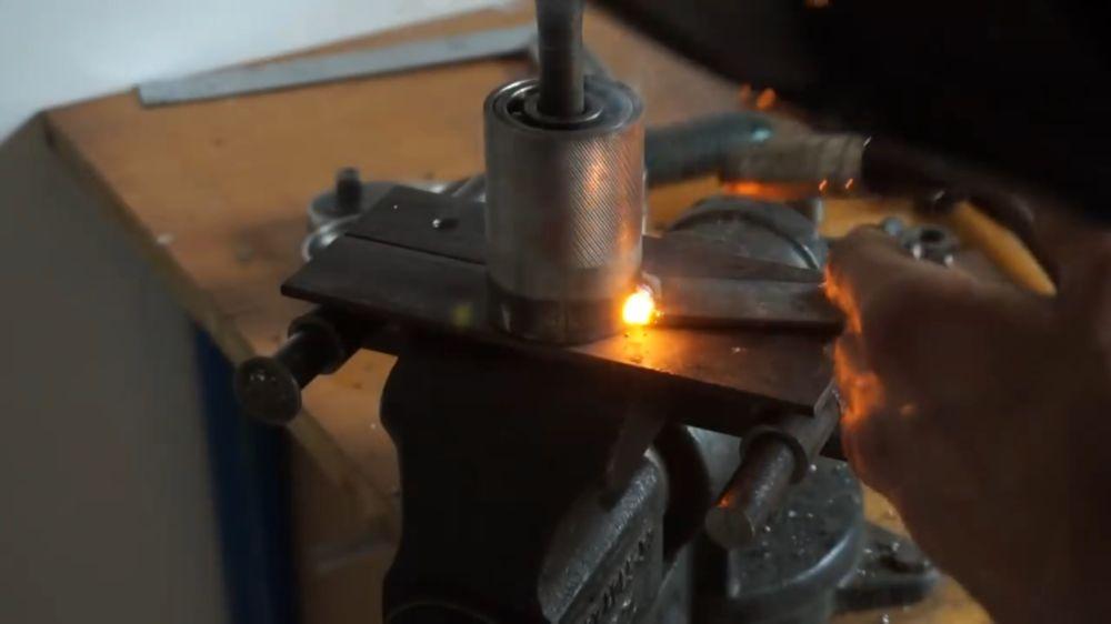 Процесс изготовления прокатного станка шаг 22