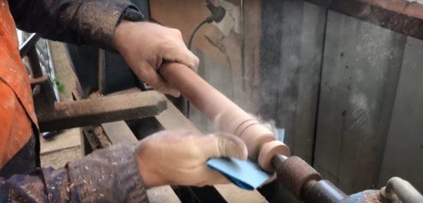 Процесс изготовления коптильни из газового баллона шаг 23