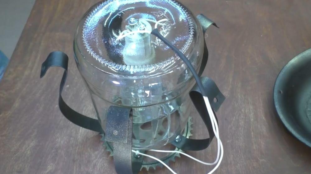 Процесс изготовления ретро лампы шаг 23