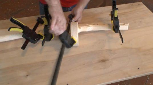 Процесс изготовления ппш из дерева шаг 23