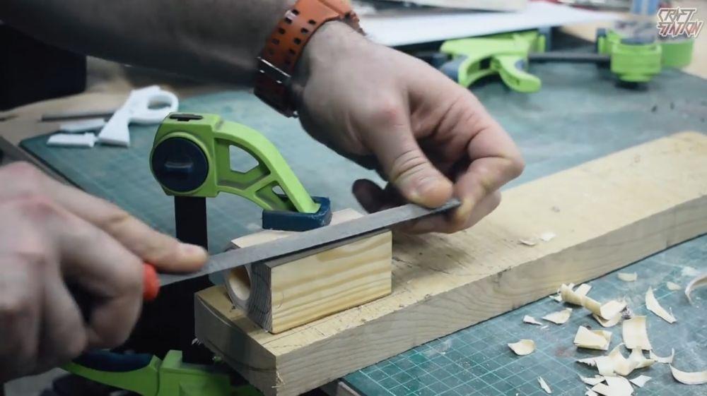 Процесс изготовления винтовки мондалорца шаг 24
