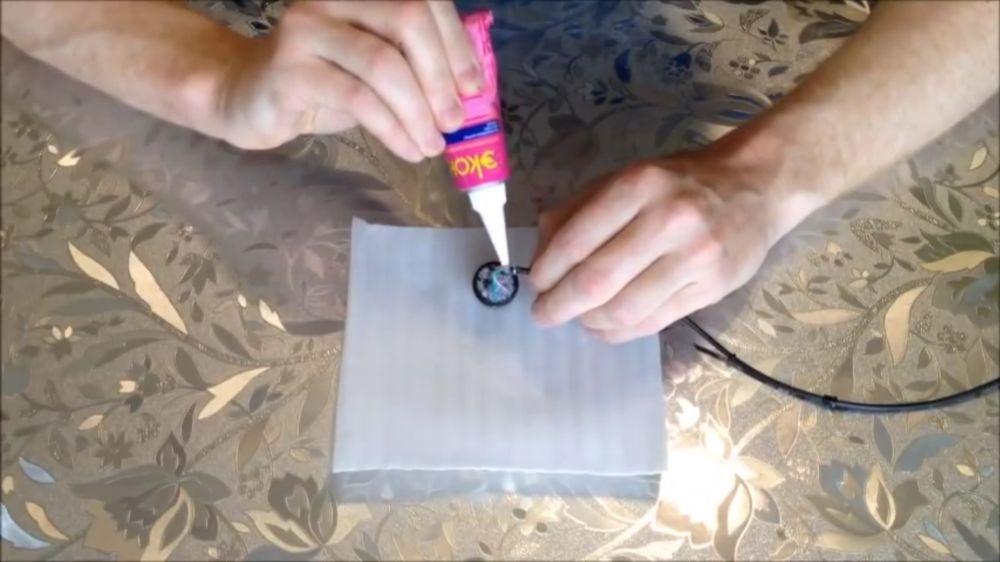 Процесс изготовления подводной камеры шаг 24