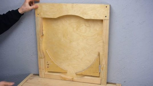 Процесс изготовления ручной бетономешалки шаг 25