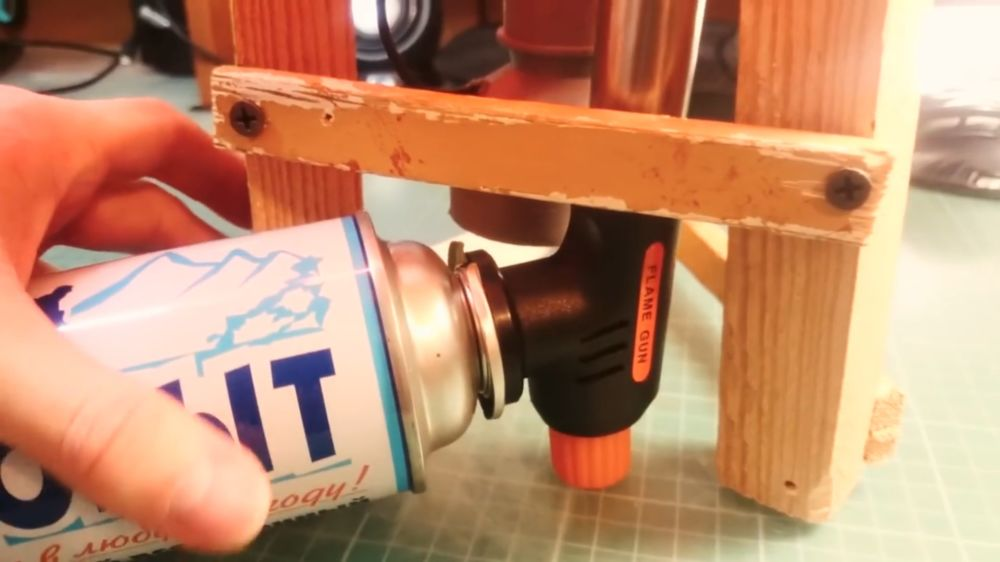 Процесс изготовления аппарата для сладкой ваты шаг 25