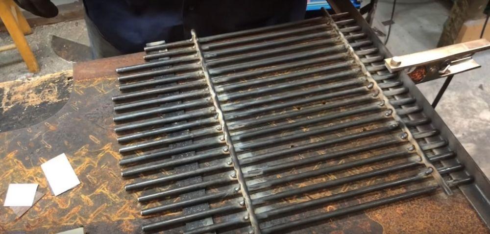 Процесс изготовления коптильни из газового баллона шаг 26