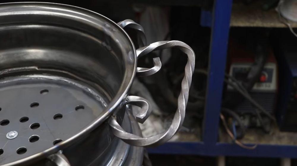 Процесс изготовления мангала гриля шаг 26